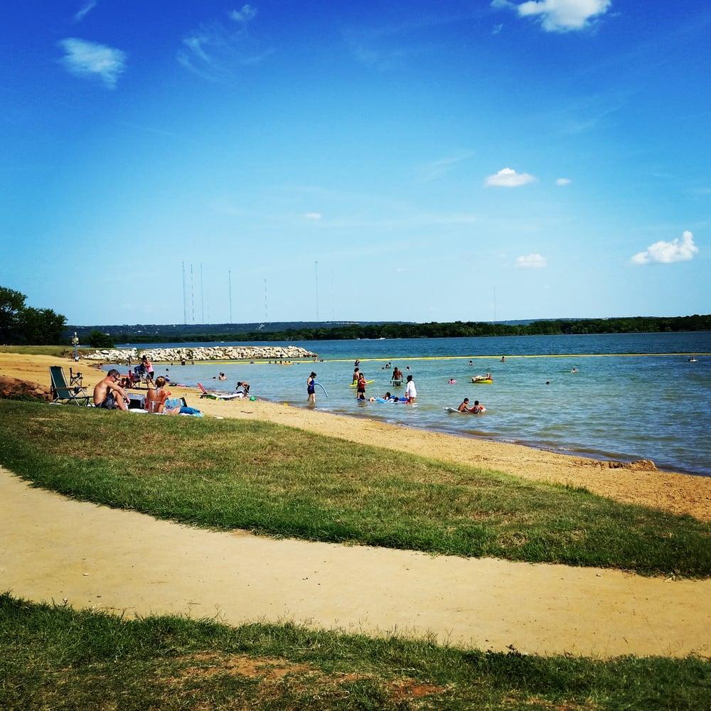 Sandy Beach: Sandy Beach On A Hot Sunny Day!