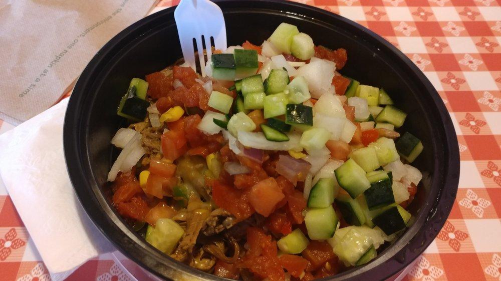 Food from Neato Burrito