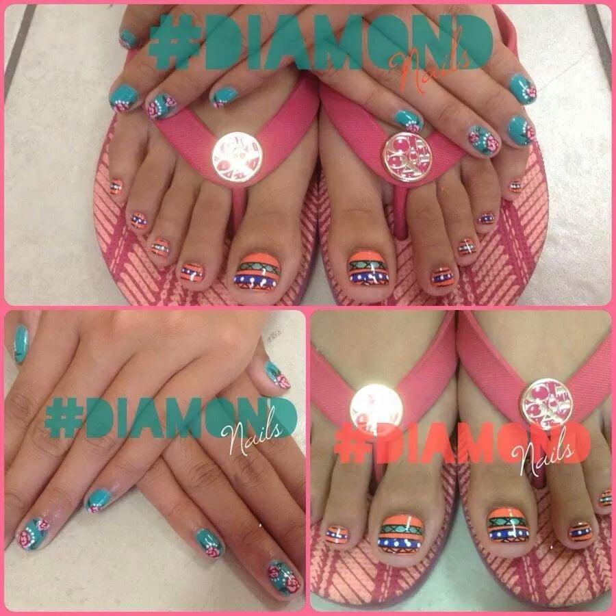 Diamond Nail & Spa - 16 Photos - Nail Salons - 1345 S Diamond Bar ...