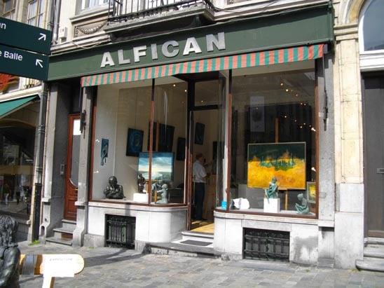 Galerie alfican gallerie d 39 arte spazi espositivi place for Centre du sablon piscine