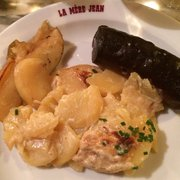 La Mère Jean - Lyon, France. Boudin noir aux deux pommes