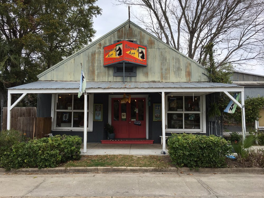 Bowery Art Gallery: 149 Commerce St, Apalachicola, FL
