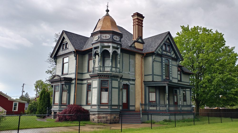 Striker House Historical Marker: 321 S Jefferson St, Hastings, MI