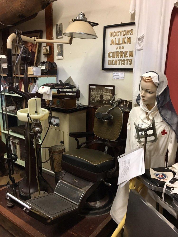 Soo Line Depot Museum: 101 1st St NE, Crosby, MN