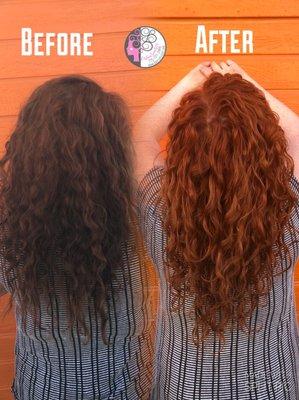 Hair Cut & Color Design by Carleen Sanchez