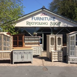photo of the furniture recycling shop secondhand furniture bourne end