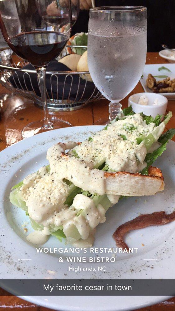 Wolfgang's Restaurant & Wine Bistro: 474 Main St, Highlands, NC