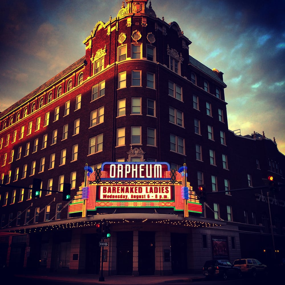 Orpheum Theatre: 200 N Broadway St, Wichita, KS
