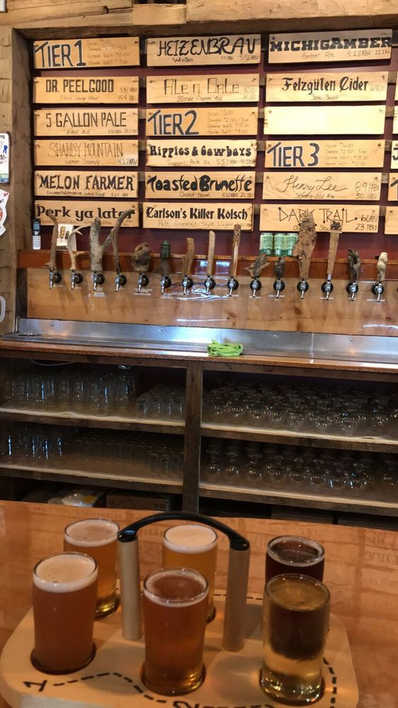 Trail Point Brewing Company: 6035 Lake Michigan Dr, Allendale, MI