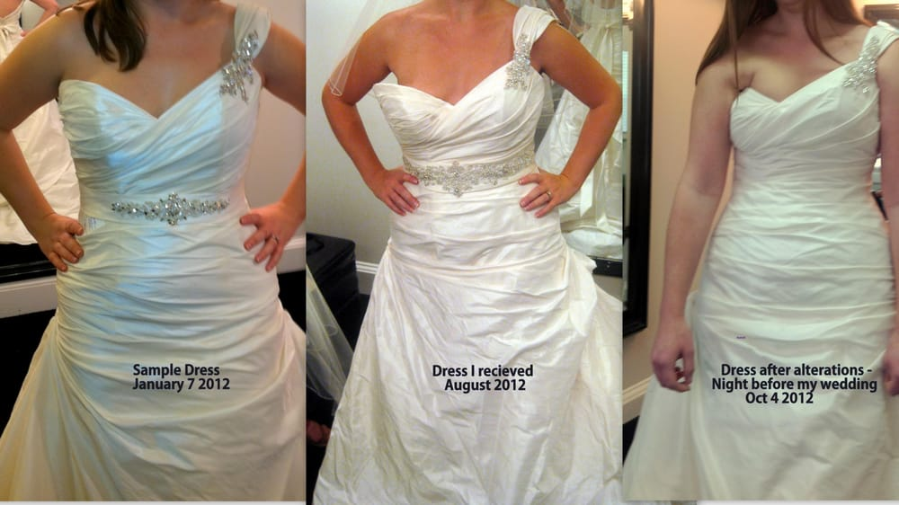 They Ruined My Wedding Dress. The Alteration Was So Bad
