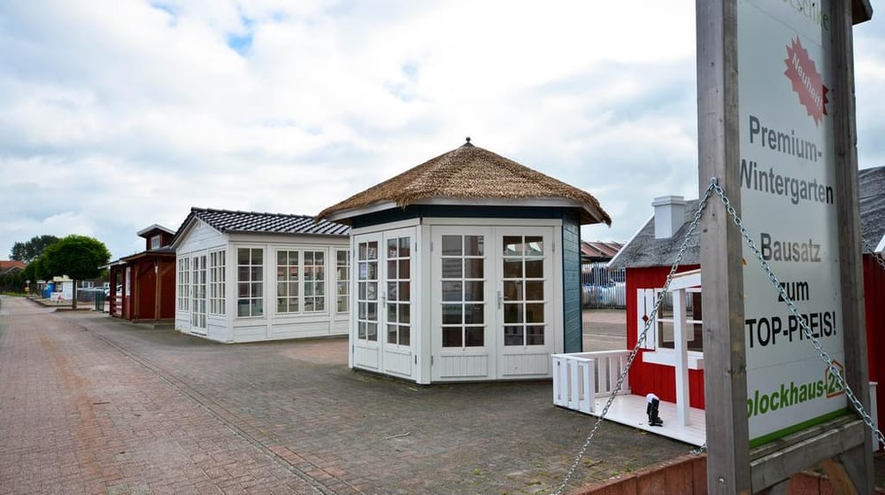 Gartenhaus Ausstellung Blockhaus24  Dr. Jeschke Holzbau   Yelp
