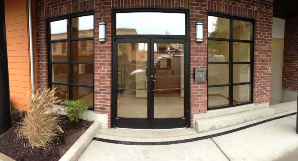 New commercial storefront doors, frames and glass. - Yelp