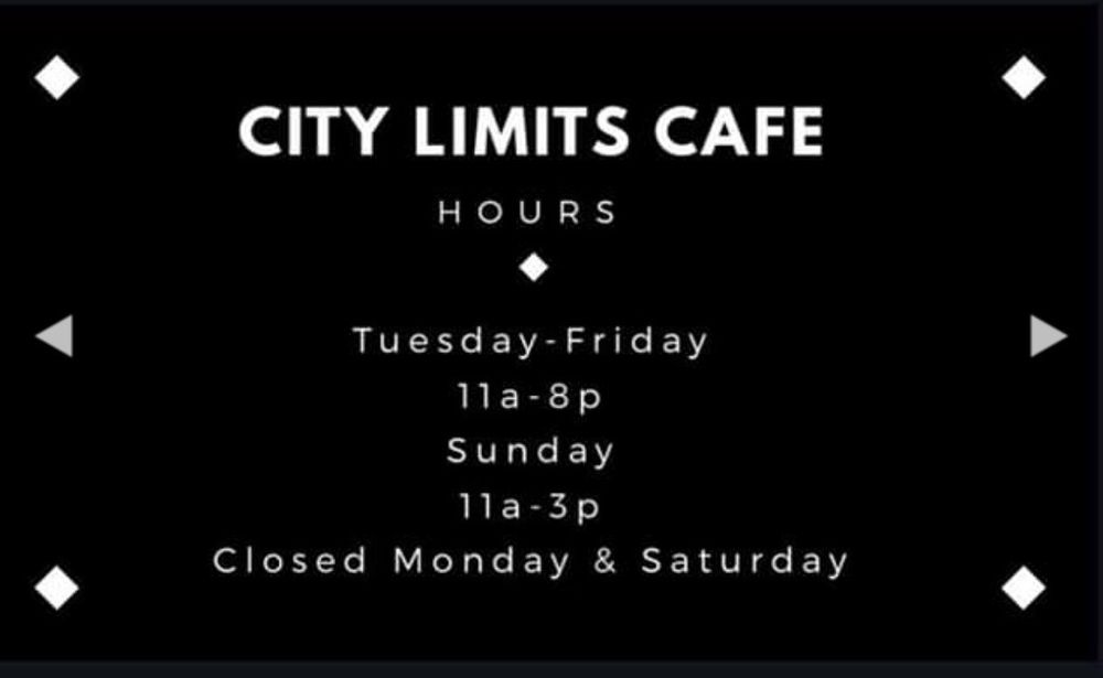 City Limits Cafe: 5430 US Hwy 72, Killen, AL