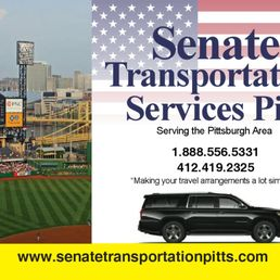 Senate Transportation Services Pittsburgh Town Car Service