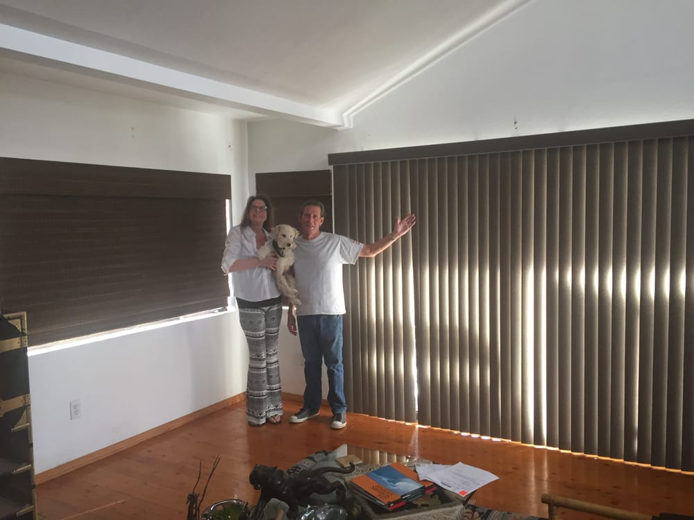 Happy Customers In Encinitas Verticals Blinds With
