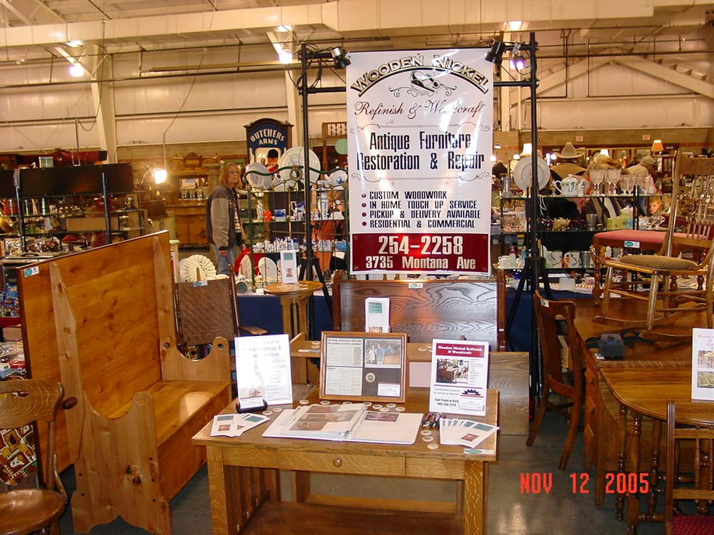 Wooden Nickel Refinish & WoodCraft: 120 Terry Ave, Billings, MT