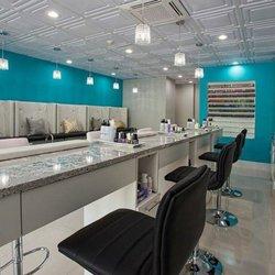 Photo Of Salon Interiors   South Hackensack, NJ, United States. Luxuria  Nail Bar