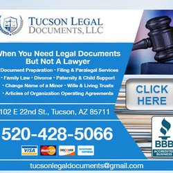Tucson legal documents legal services 6102 e 22nd st corbett photo of tucson legal documents tucson az united states ad powered by solutioingenieria Choice Image