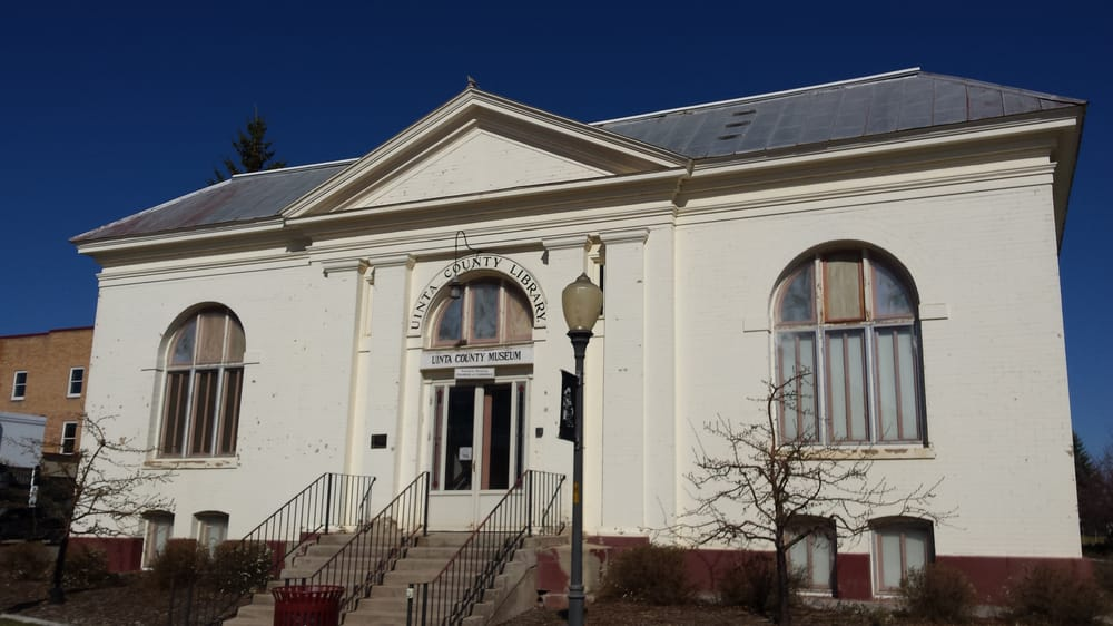 Uinta County Museum: 36 10th St, Evanston, WY