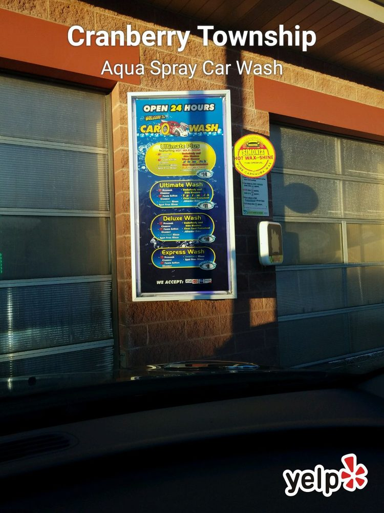Aqua Spray Car Wash In Cranberry Township Pa