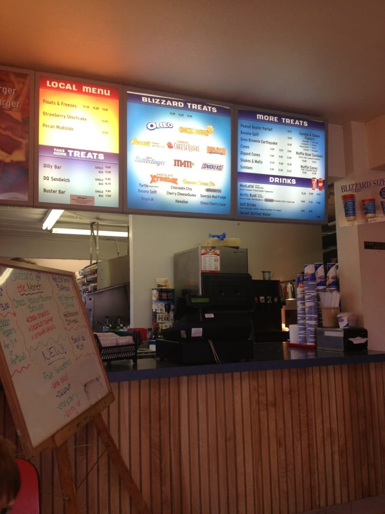 Dairy Queen: 804 S Mississippi Ave, Atoka, OK