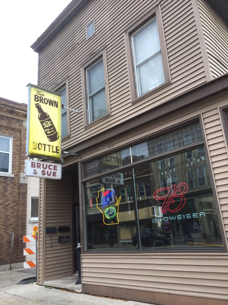 Brown Bottle: 401 E Mill St, Plymouth, WI