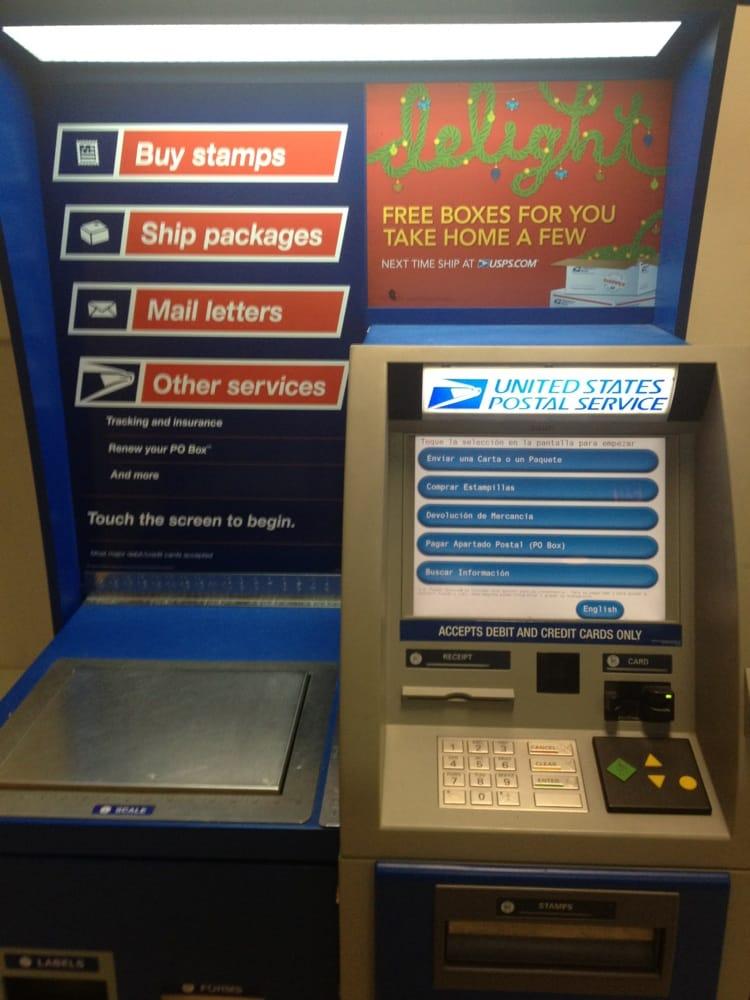 automated postage machine