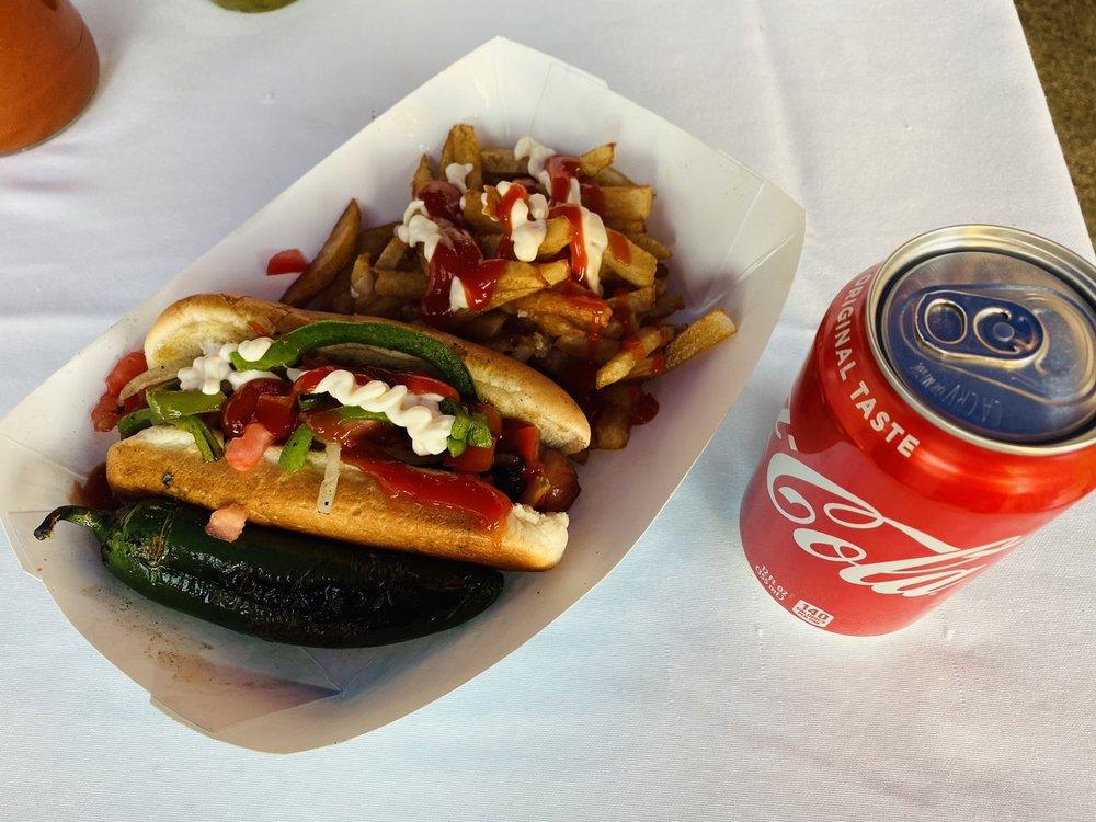 Hots Dogs Los Diablos: 8702 Rowley St, Littlerock, CA