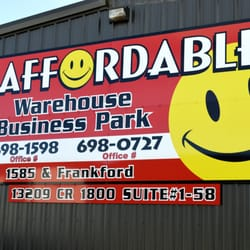 Local Services Self Storage · Photo Of Affordable Shop Rentals   Lubbock,  TX, United States