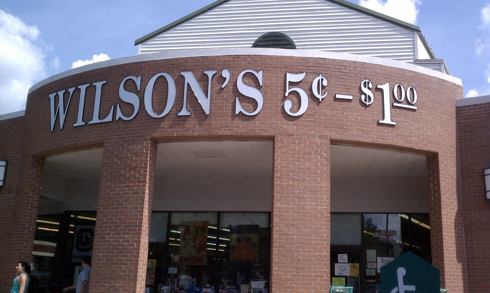 Wilson's 5 Cents To 100 Store: 2450 Hudson Rd, Greer, SC