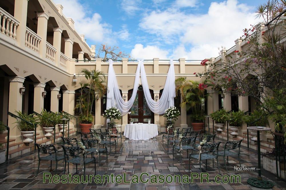 Restaurante la casona en san juan puerto rico patio y - La casona sitges ...