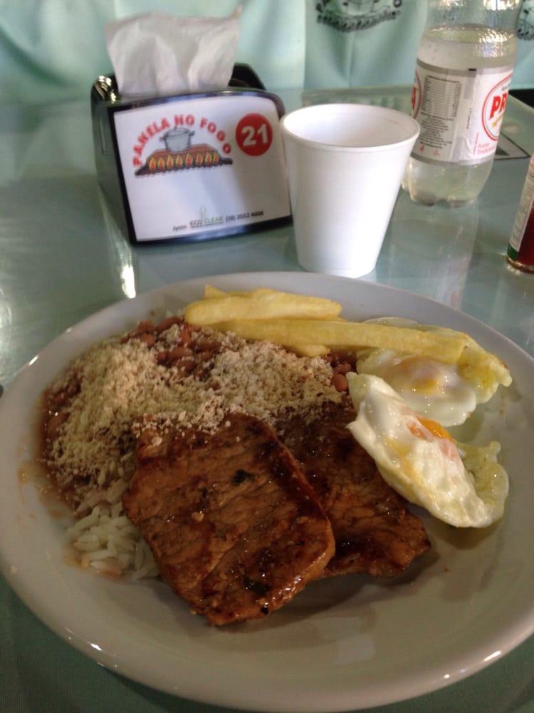 Panela No Fogo Restaurante: Av. Laudo Natel 310, Serra Negra, SP