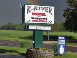 K-River Motel & Campground: 7797 Rt 154, Baldwin, IL