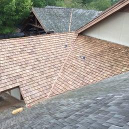 Photo Of Harrisonu0027s Roofing   Lexington, KY, United States. Cedar Shake  Installations