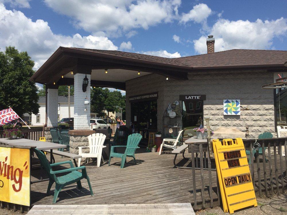 Eagle's Nest Coffee House: 330 2nd St W, Wabasha, MN