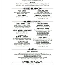 photo of pappadeaux seafood kitchen duncanville tx united states lunch specials menu - Pappadeaux Seafood Kitchen Menu