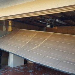 Photo Of Garage Door Pros   Pleasanton, CA, United States. Off Track Before