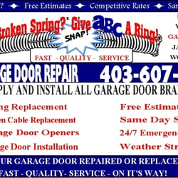 Photo of ABC Garage Door Repair - Calgary AB Canada  sc 1 th 225 & ABC Garage Door Repair - Get Quote - Home Services - 607 Templeside ...