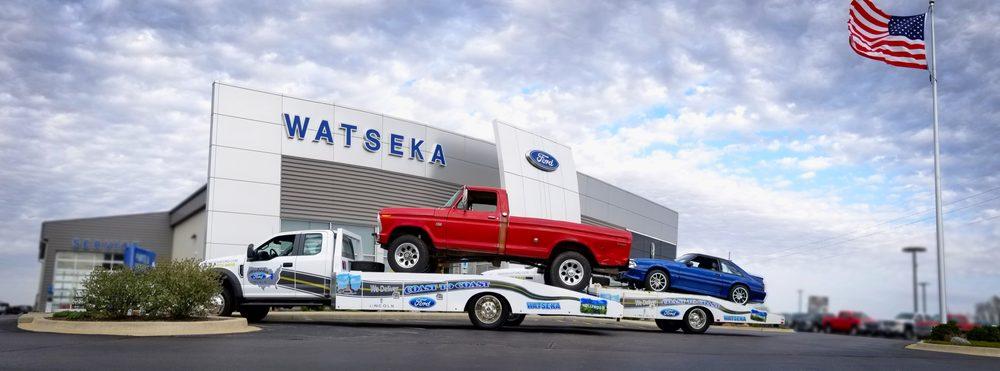Watseka Ford-Lincoln: 101 Bell Rd, Watseka, IL