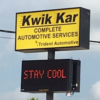 Coupons for kwik kar state inspection