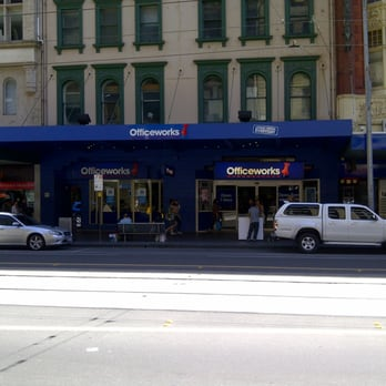 Officeworks  Office Equipment  107 Elizabeth St Melbourne