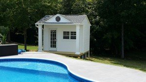 Pool Shed With Patio Doors Yelp