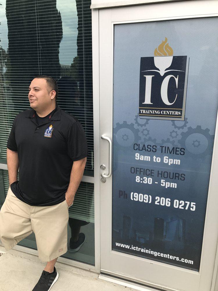 I C Training centers: 3286 E Guasti Rd, Ontario, CA