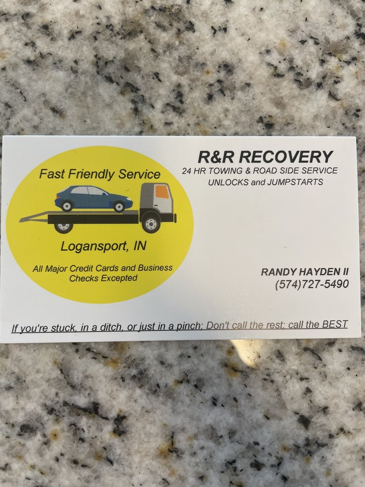 R&R Recovery: 2133 E County Rd 650 N, Logansport, IN