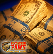 Buccaneer Pawn Guns & Gold