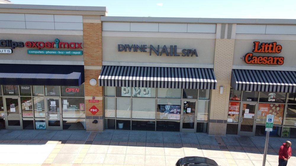 Divine Nail Spa: 6430 Trading Sq, Haymarket, VA