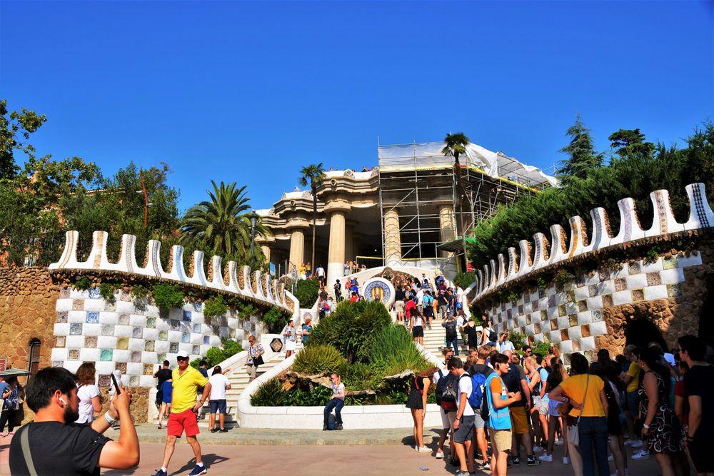 Parc Güell: Carrer d'Olot, 7, Barcelona, B