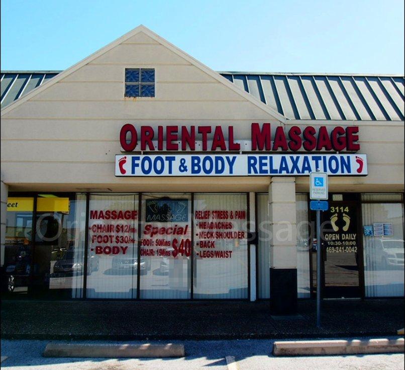 asian massage plano