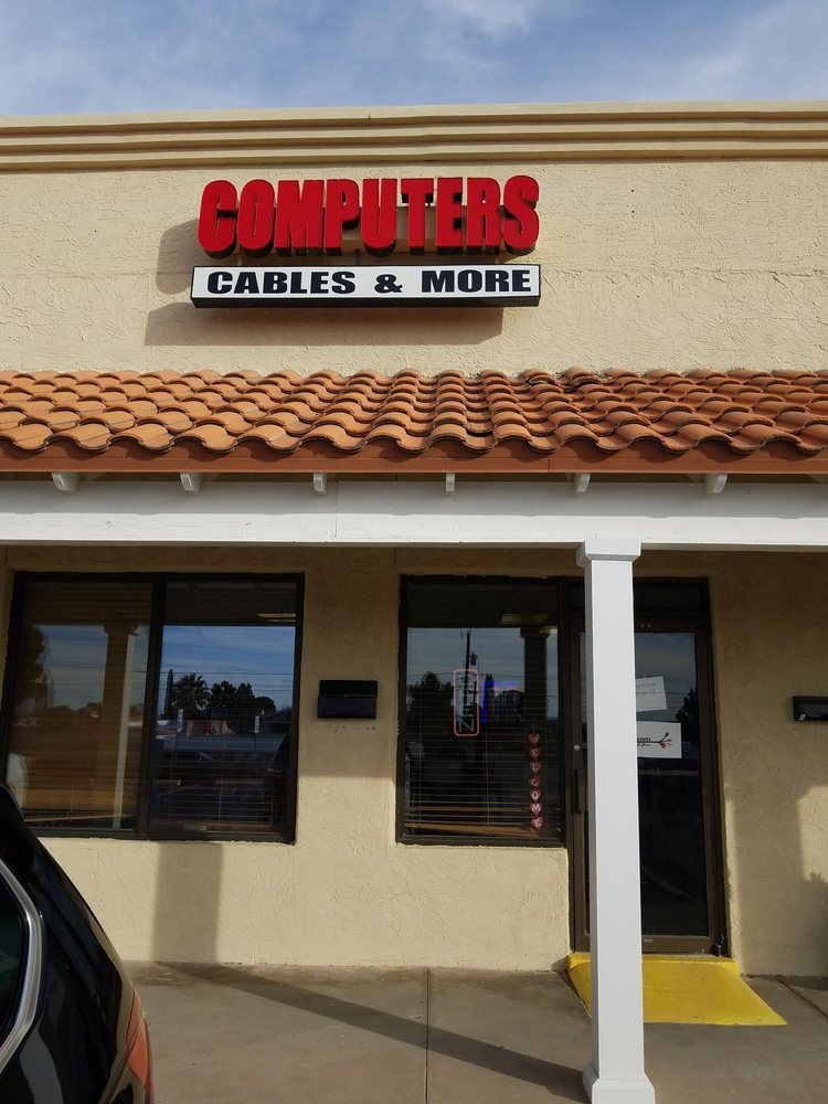 Computers, Cables & More: 300 N Resler, El Paso, TX