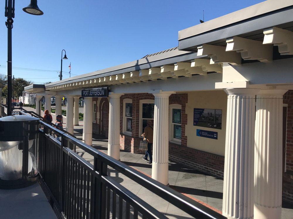 Port Jefferson Train Station: 255 Oakland Ave, Port Jefferson, NY